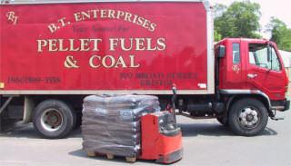 BT Pellet Delivery Truck